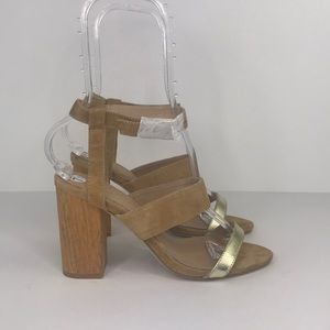 Raye Revolve Lana Block Heel Sandals Size 39/7.5